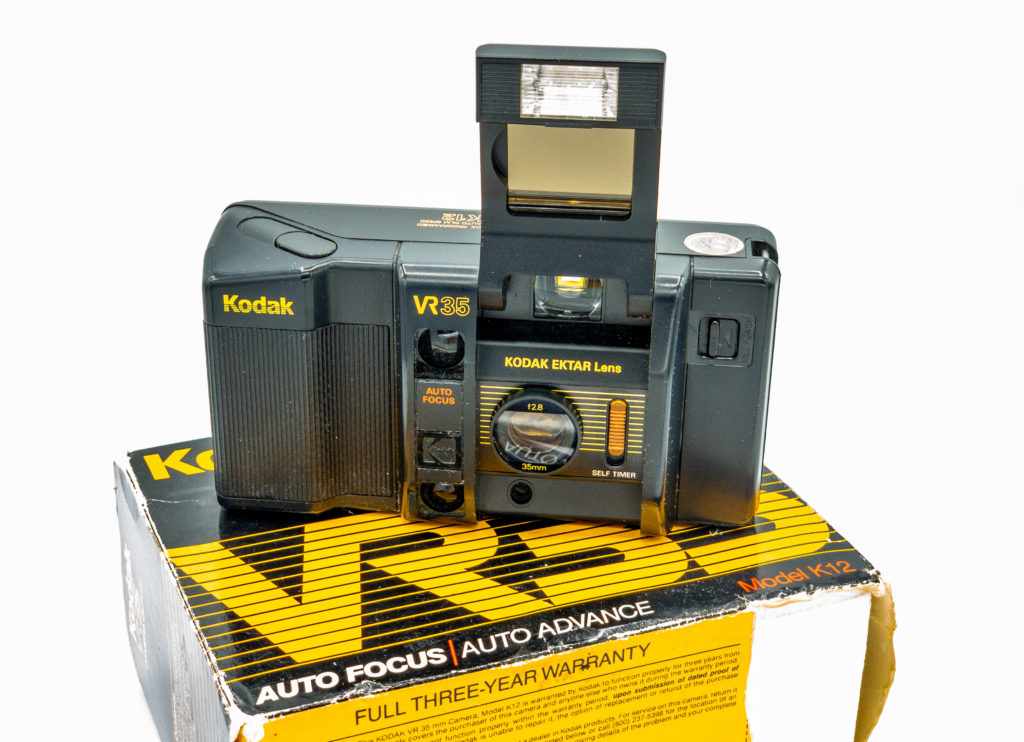 Photo of my Kodak VR35 K12 on original box. Russell Viers