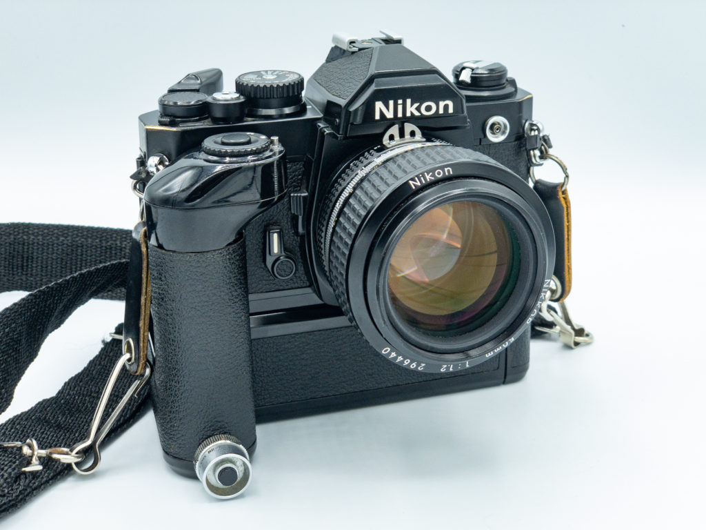 Photo of Nikon FM2n shot by Russell Viers