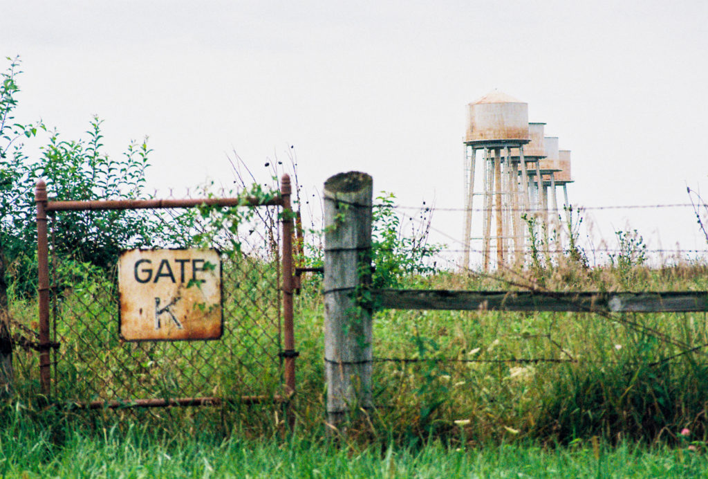 Photo of Water Towers at Sunflower Army Ammunitions Plant by Russell Viers